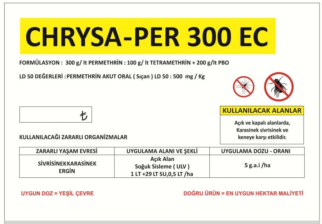 chrysa-per 300 ec