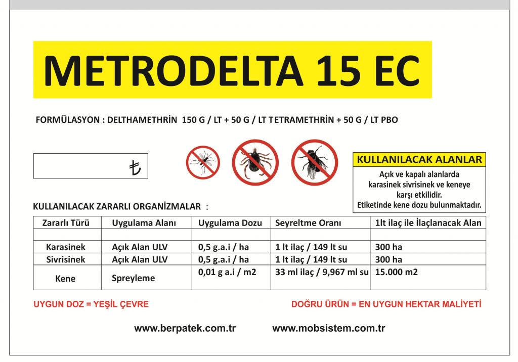 Metrodelta 15 ec